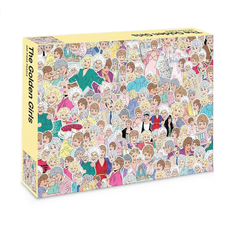 Golden Girls: 500 Piece Jigsaw Puzzle