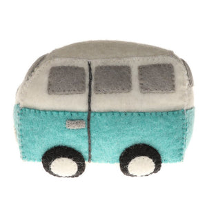 Felt Hippie Van Kids Toy