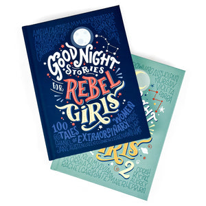 Good Night Stories for Rebel Girls Box Set (Volumes 1 & 2)