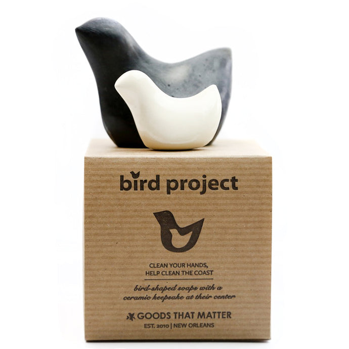 Bird Project Charcoal Soap