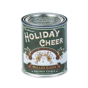 Holiday Half Pint Soy Wax Candle