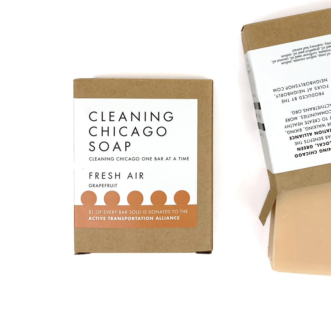 Cleaning Chicago Fresh Air Grapefruit Soap