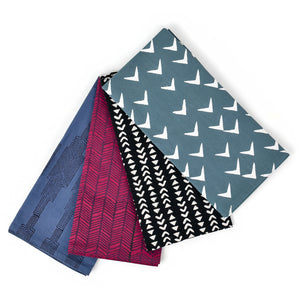 Block Printed Patterned Napkin