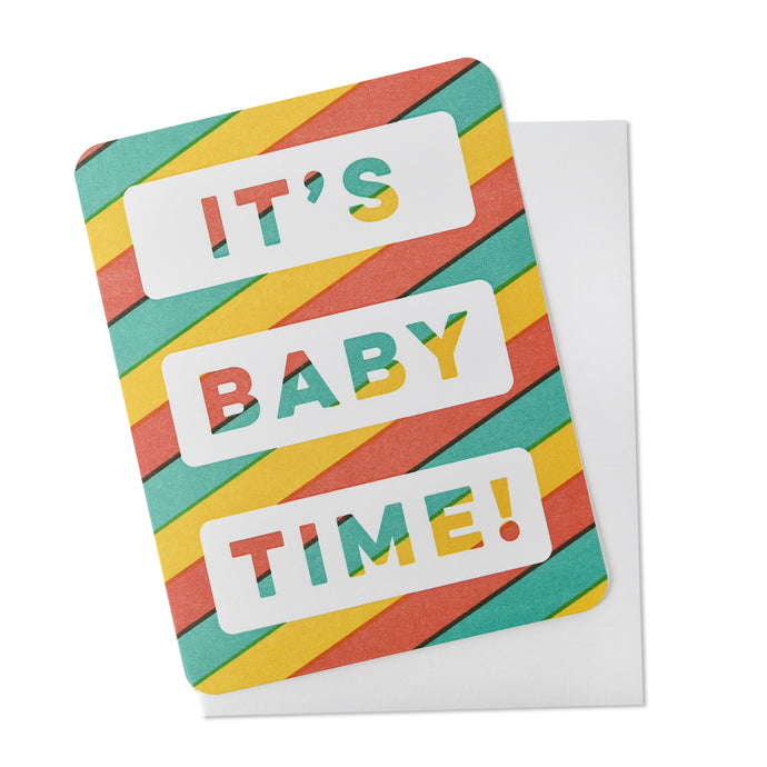 It's Baby Time! Card