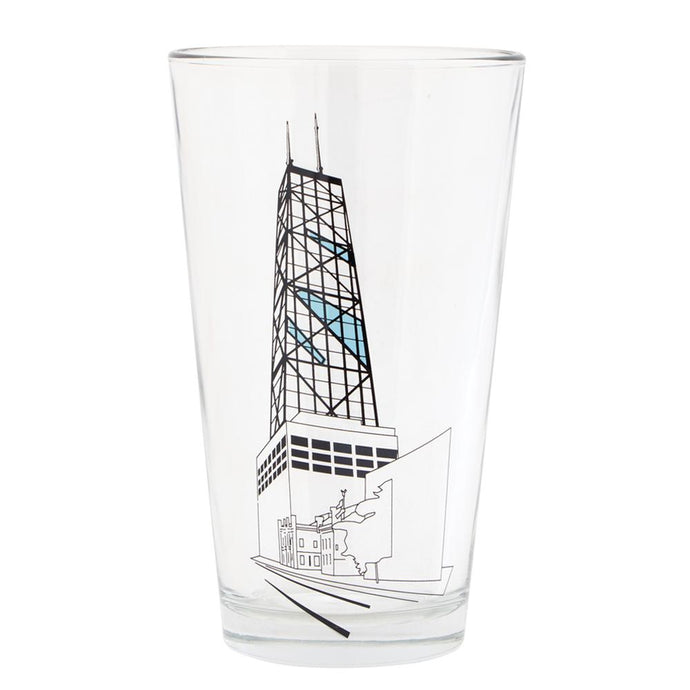 Chicago Hancock Tower Pint Glass