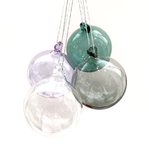 Hand Blown Glass Sphere Ornament
