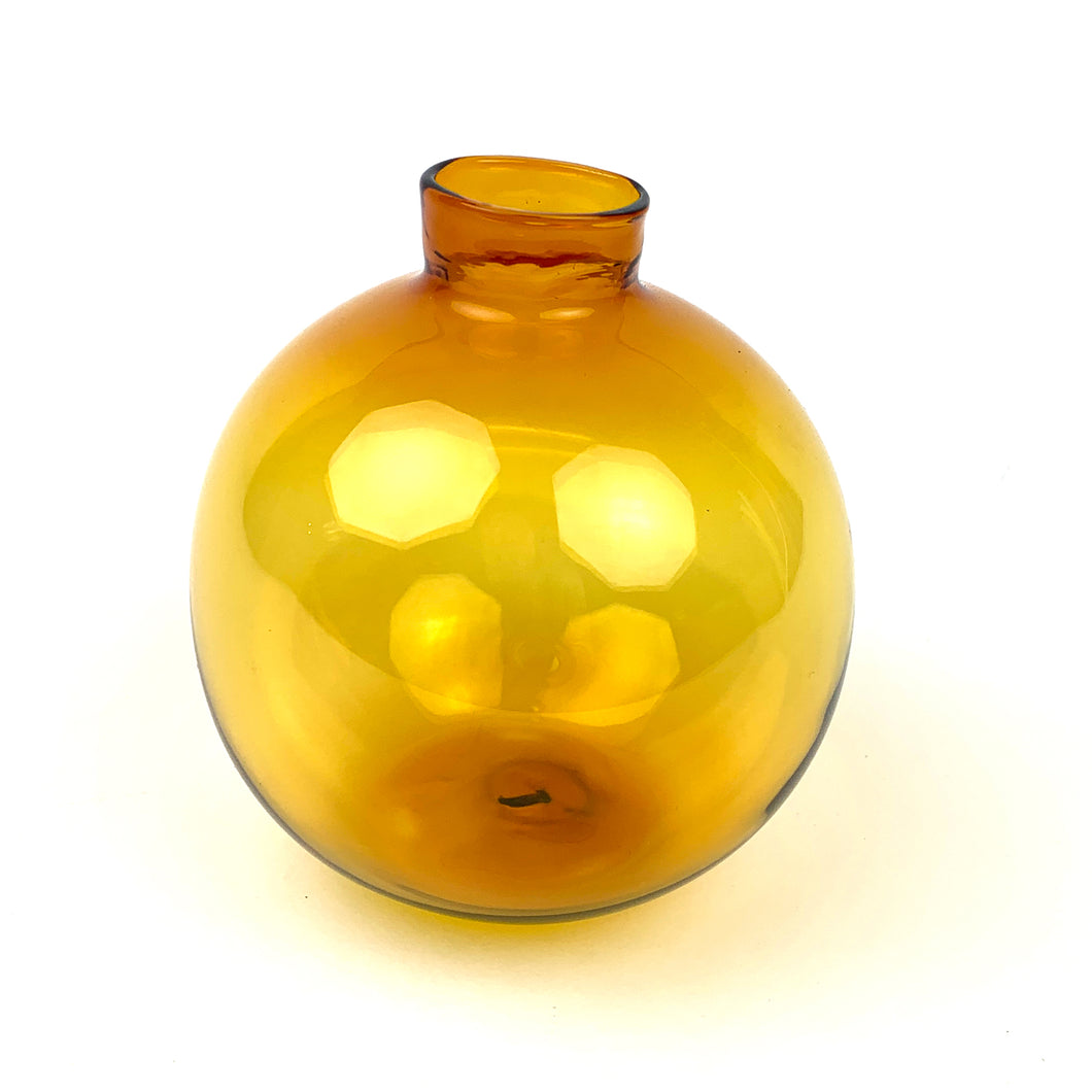 Hand Blown Glass Bud Vase
