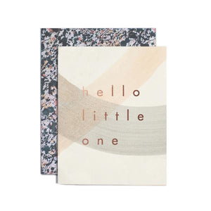 Hello Little One New Baby Card
