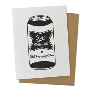 Let's Cheers Beer Congrats Card