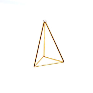 Prism Himmeli Brass Air Plant Hanger or Ornament