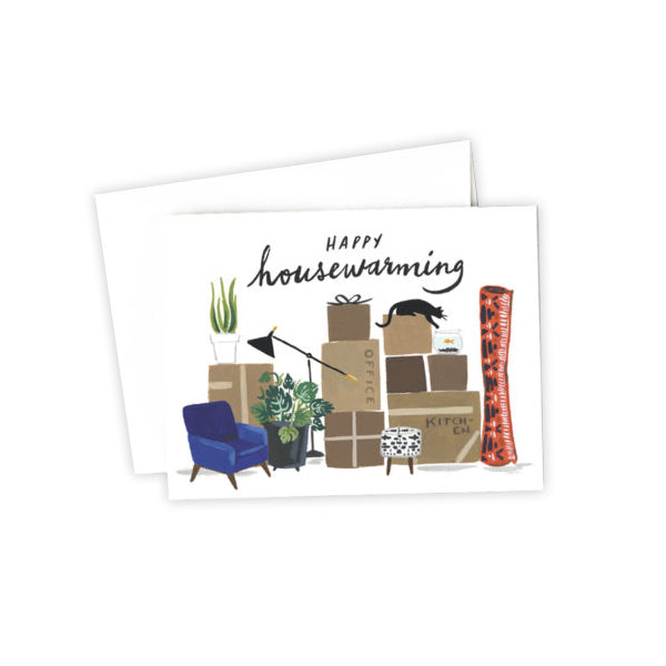 Happy Housewarming New Home Greeting Card