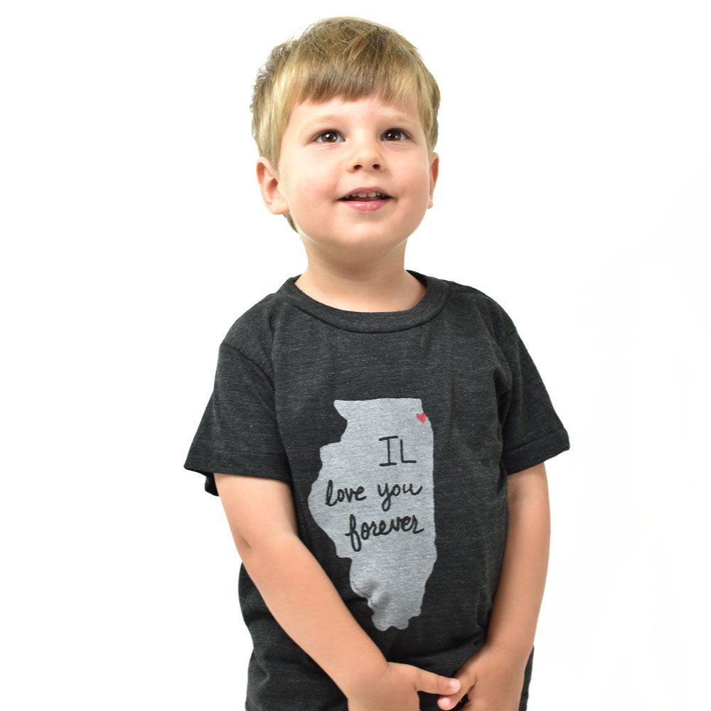 Illinois Love Kids Tshirt