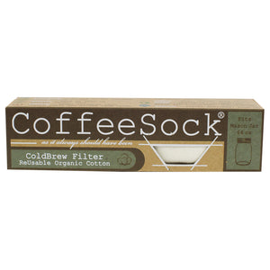 CoffeeSock Cotton Cold Brew Coffee Filter (64 oz)