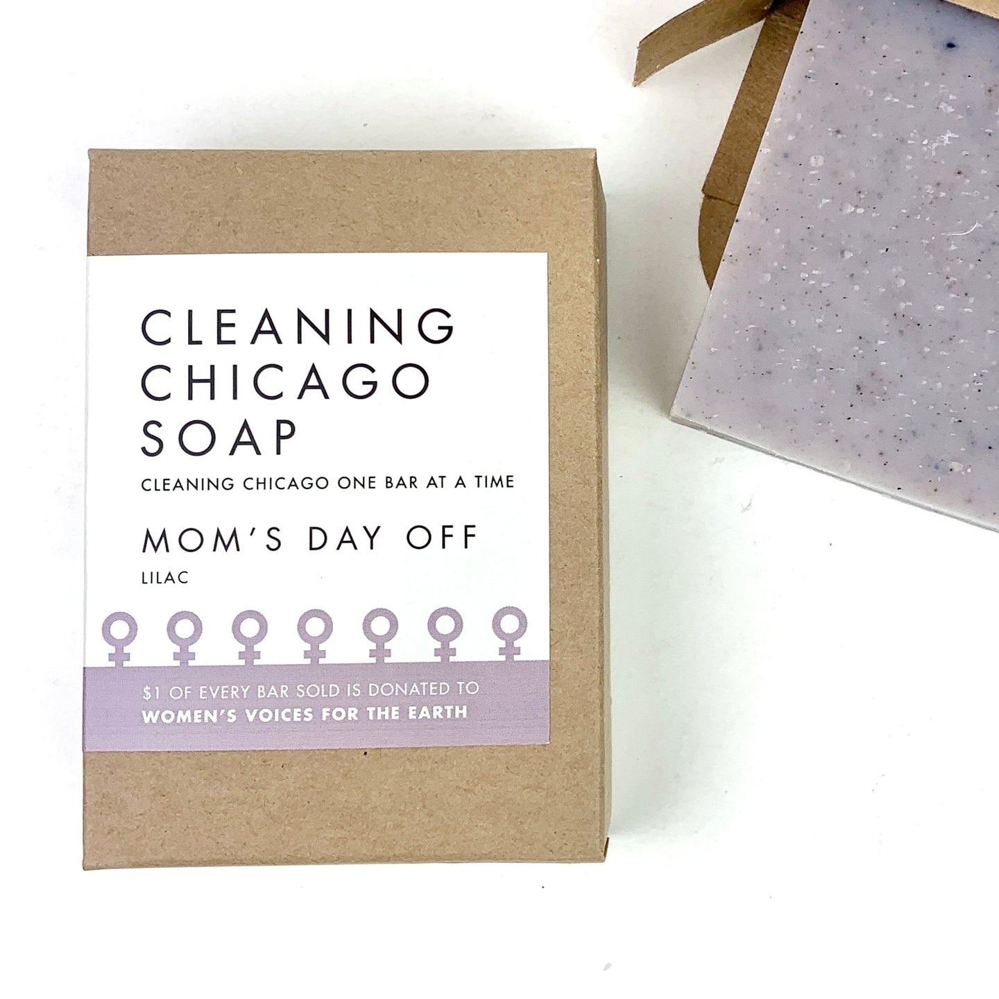 Cleaning Chicago Mom's Day Off Lilac Soap