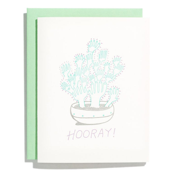 High Five Plant Card