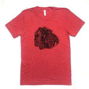 Chicago Blackhawks Sugarskull Tshirt