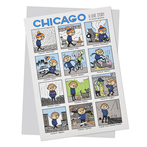Chicago: A Love Story Card