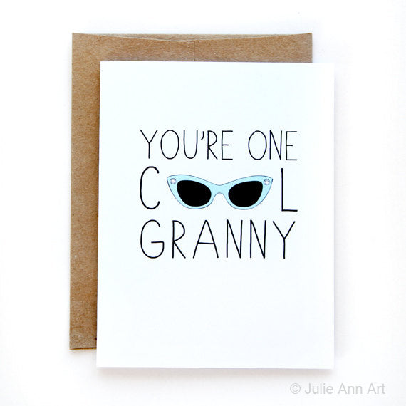 Cool Granny Mother's Day Card