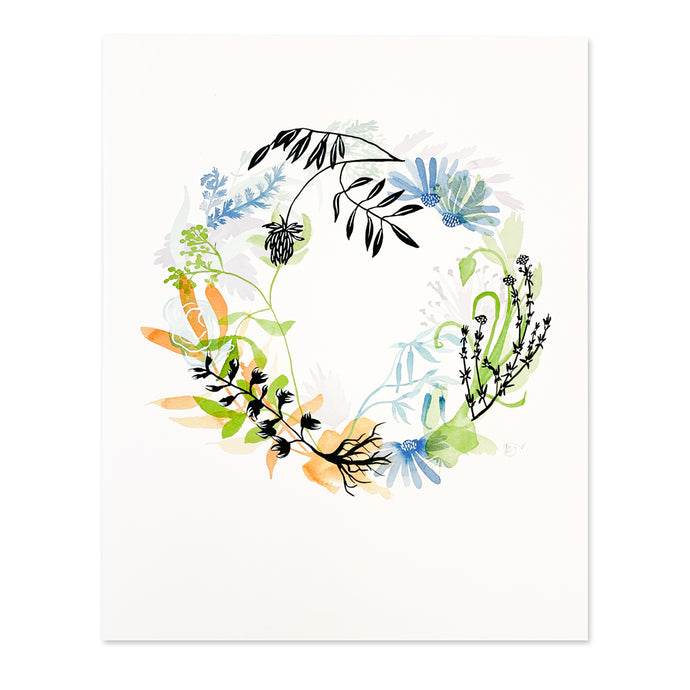 Floral Healing Wreath 8