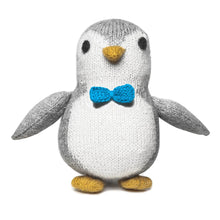Fair Trade Knit Alpaca Stuffed Baby Penguin Toy