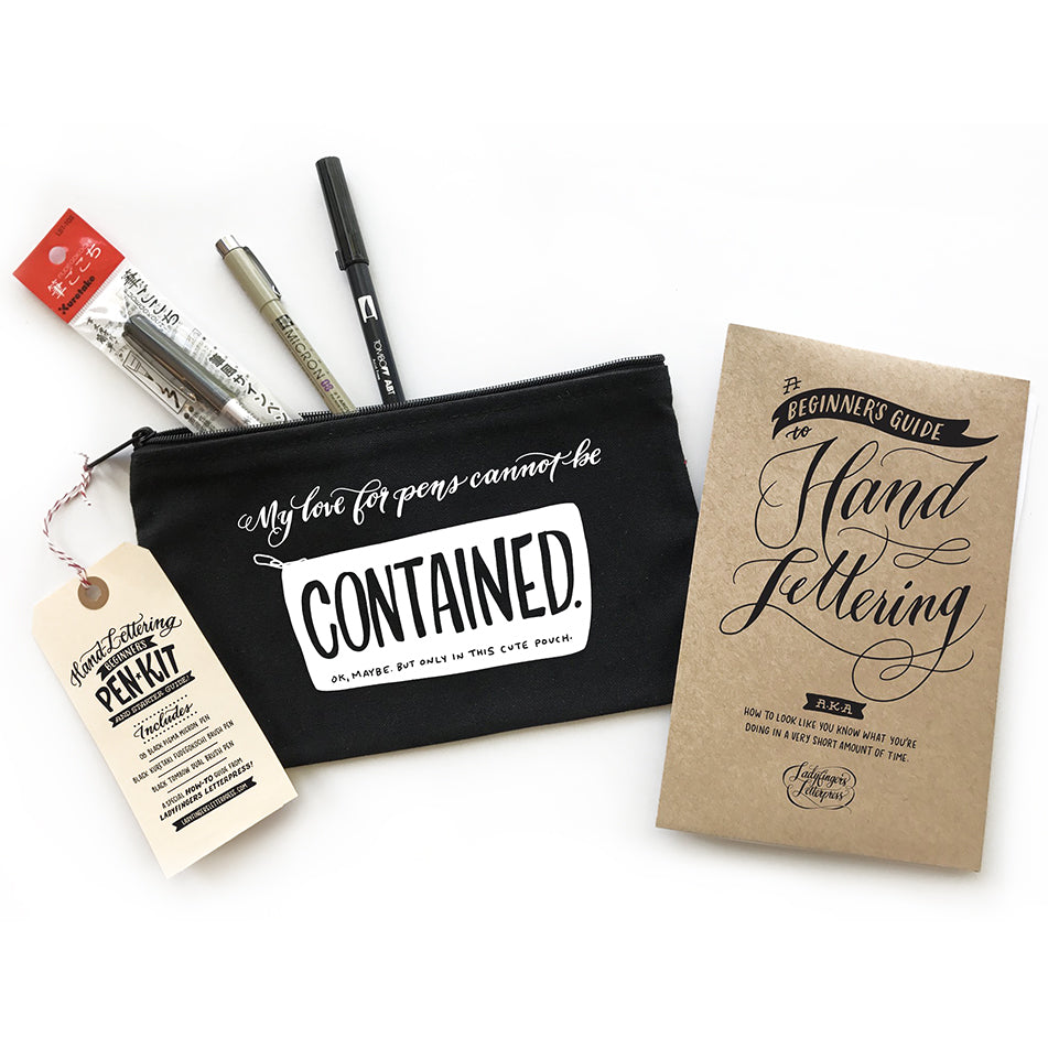 Hand Lettering Craft Kit