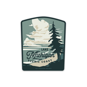 Lake Michigan National Landmark Sticker
