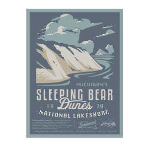Sleeping Bear Dunes National Park Poster