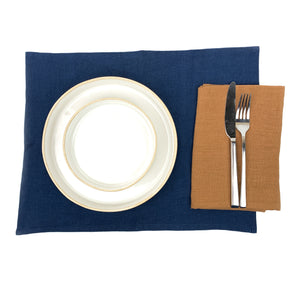 Stonewashed Linen Placemat
