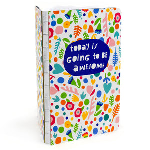 "Today is Going to be Awesome 5"" x 8"" Journal or Sketchbook"
