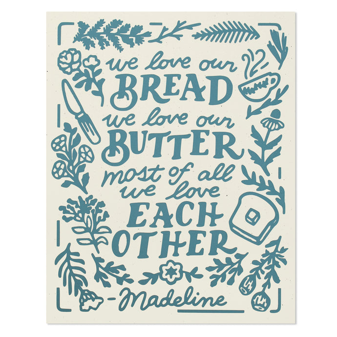 Bread & Butter Madeline Quote 8
