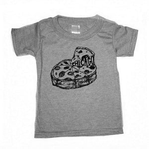 Deep Dish Pizza Kids Tshirt
