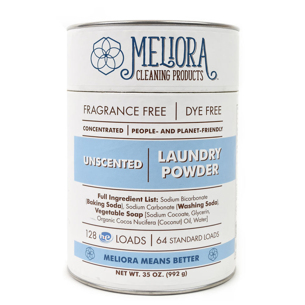 Non-Toxic, Plastic Free Concentrated Laundry Powder