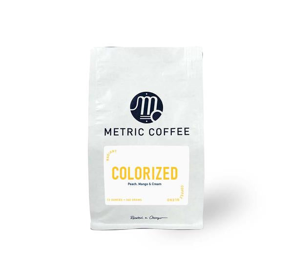 Colorized Radiant Whole Bean Coffee (12 oz bag)