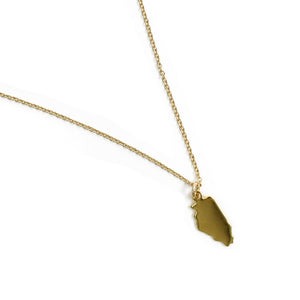 Midwest State Charm Necklace