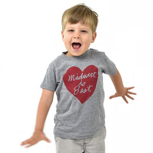 Midwest is Best Kids Tshirt