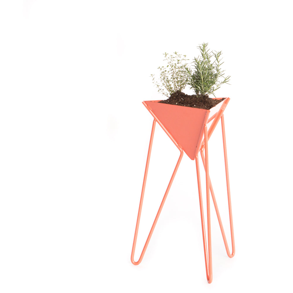 Triangle Modern Indoor Outdoor Plant Stand Neighborly