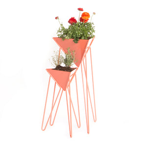 Triangle Modern Indoor / Outdoor Plant Stand