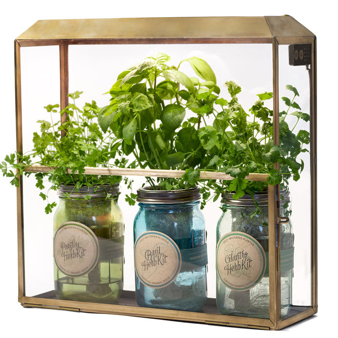 Compact Metal Growhouse