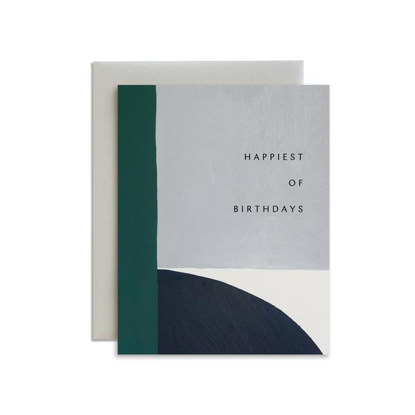 Arch Happiest of Birthdays Foil Card