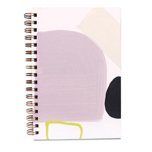 "Painted Cover 6"" x 9"" Notebook (Blank Pages)"