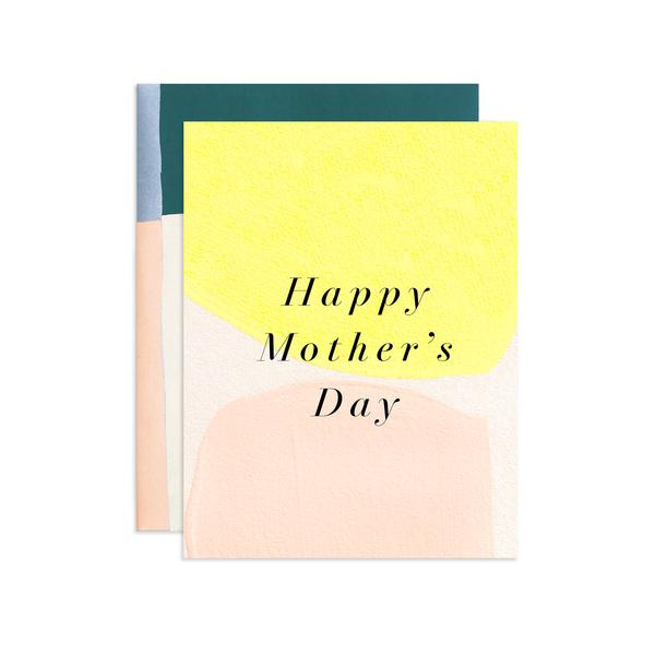 Lemon Happy Mother's Day Hand Painted Greeting Card