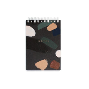 Mini Patterned Spiral Notebook