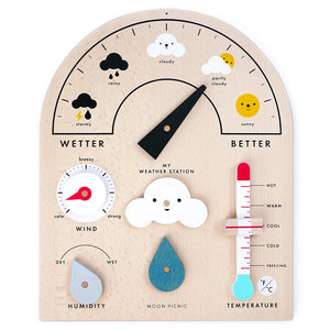 My Weather Station Wooden Toy
