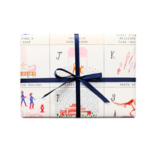 Chicago ABC's Gift Wrap Sheets (Roll of 3 Sheets)