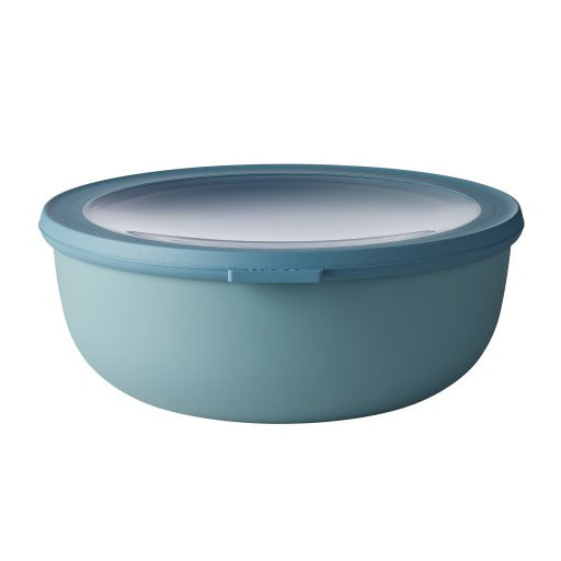 Cirqula Shallow Pasta / Salad Bowl with Lid