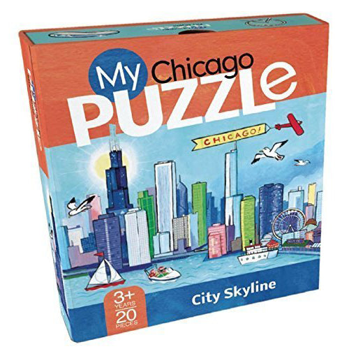 My Chicago Puzzle: City Skyline