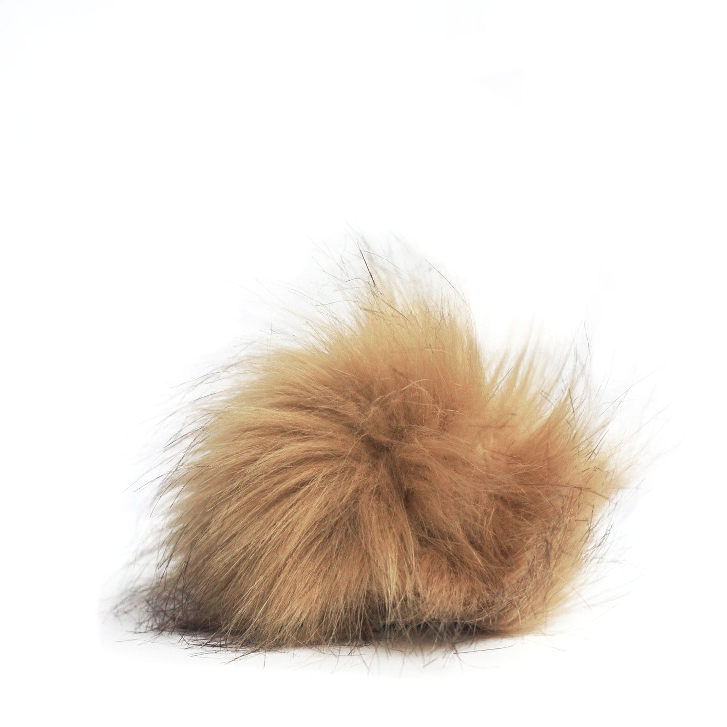 Removable Beanie Hat Pom Faux Fur Puff Neighborly