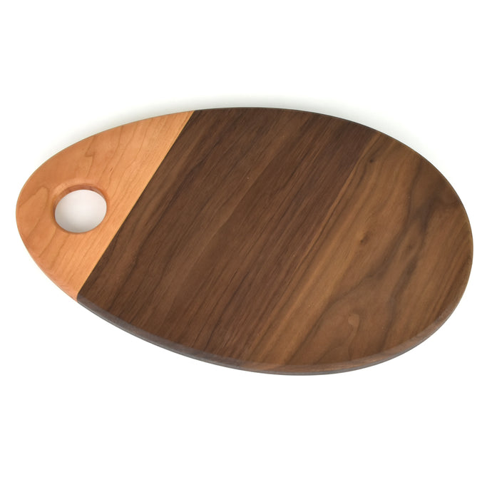 Handmade Teardrop Wood Serving Board