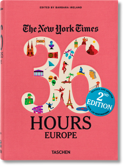 New York Times 36 Hours Europe Book - 2nd Edition