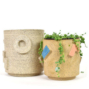 Shapes Ceramic Planter